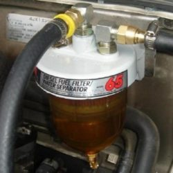 Подогреваемый сепаратор для дизельного топлива и установка своими руками