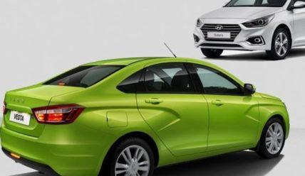 За и против: Lada Vesta против нового Hyundai Solaris второго поколения