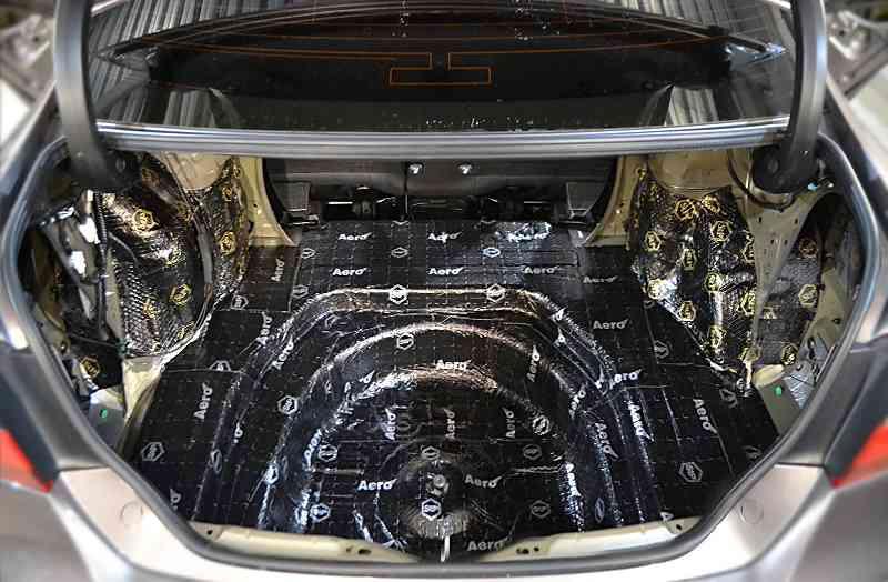 виды эффективной шумоизоляции для авто