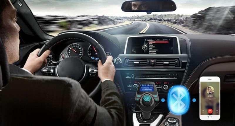 fm трансмиттер автомобильный с bluetooth