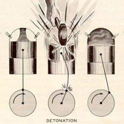 Суть и причины детонации инжекторного и карбюраторного двигателя в различных режимах