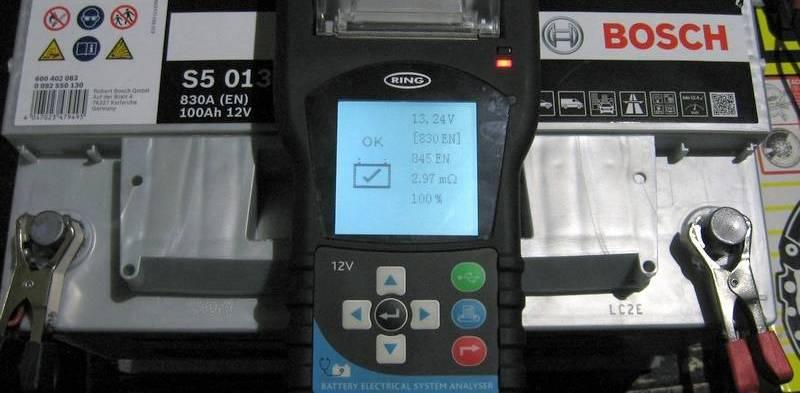 как проверить автомобильный аккумулятор в магазине при покупке