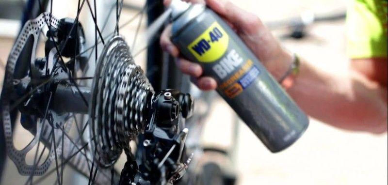 как почистить цепь велосипеда
