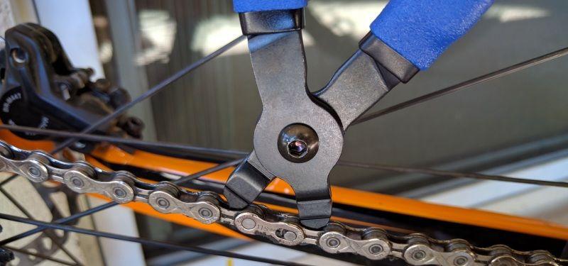 как поменять цепь на велосипеде