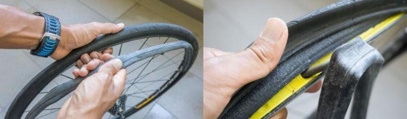 как клеить заплатки на велосипедную камеру