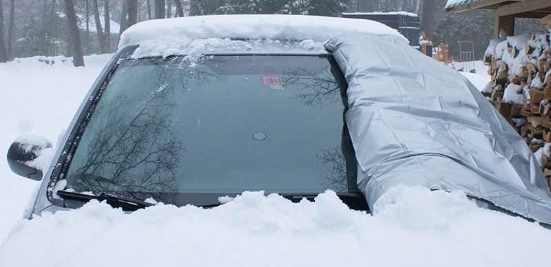 как разморозить стекла автомобиля зимой