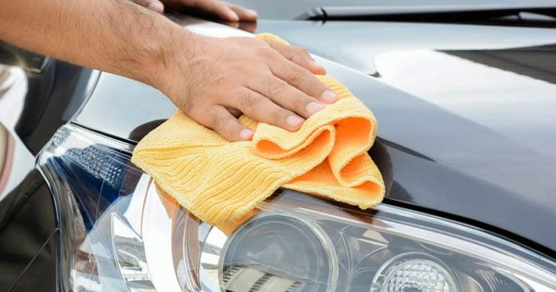 как наносить жидкий воск на автомобиль