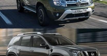 Что лучше Nissan Terrano или Renault Duster: обзор братьев-близнецов