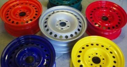 Как грамотно покрасить стальные колесные диски самостоятельно?