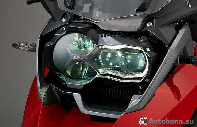 фото оптики мотоцикла БМВ 1200 GS