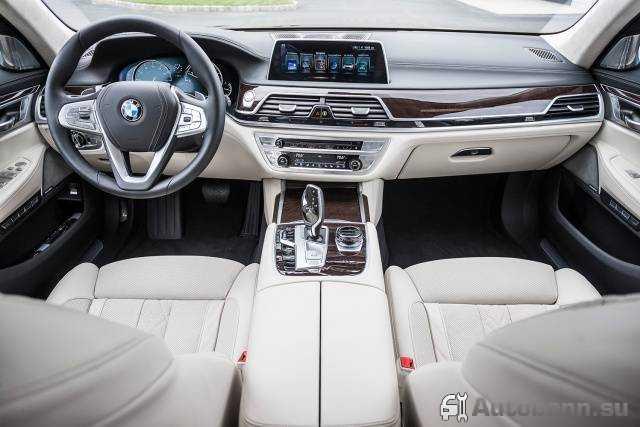 панель BMW 7 в кузове G11
