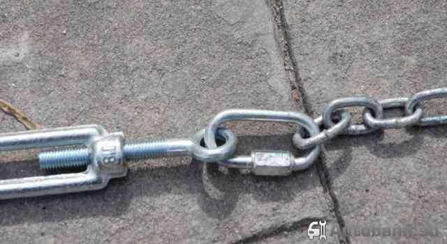 самодельные цепи на колеса