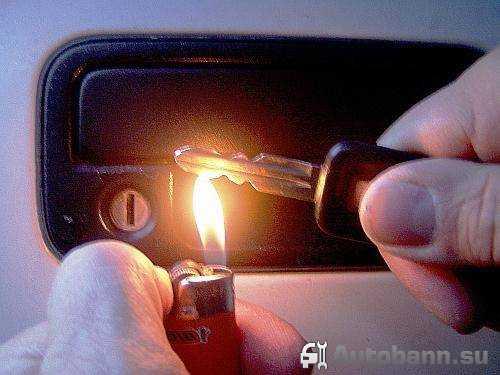 Что делать, если замерз замок в машине и как открыть примерзшие двери