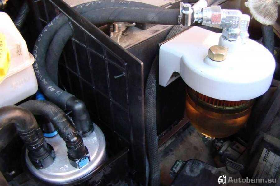 Дизельные сепараторы топлива своими руками 89