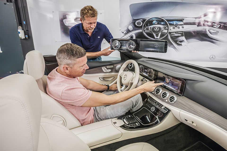 новый седан Mercedes-Benz E-Class 2016