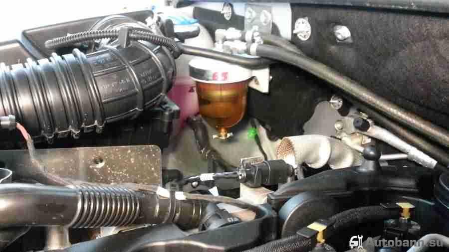 сепаратор для дизельного топлива и установка своими руками
