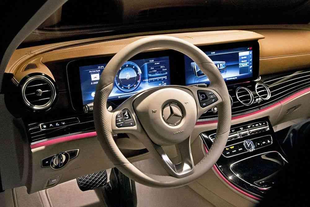Mercedes-Benz новый седан E-Class 2016