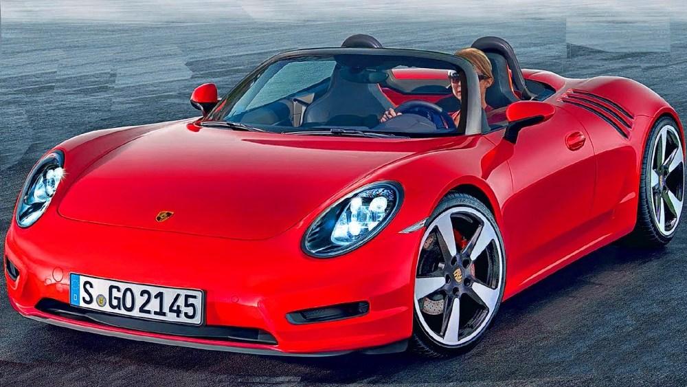 новый двухдверный Porsche