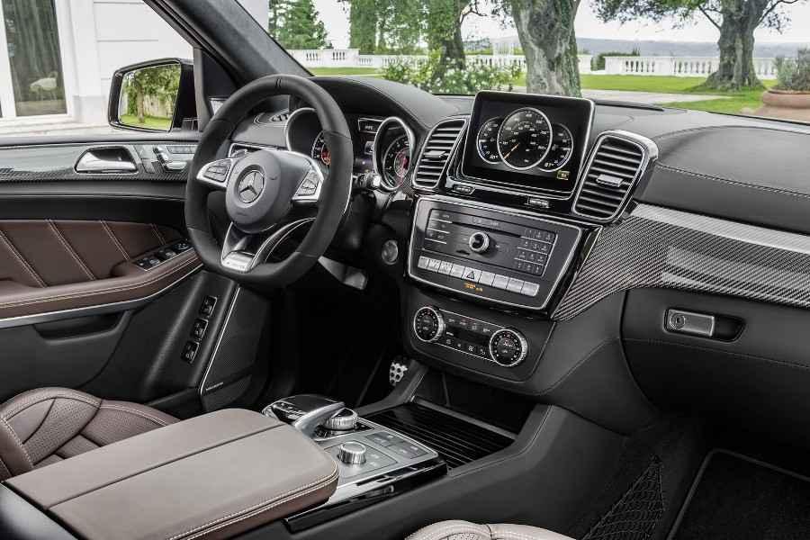 новый автомобиль GLS Mercedes Benz 2016