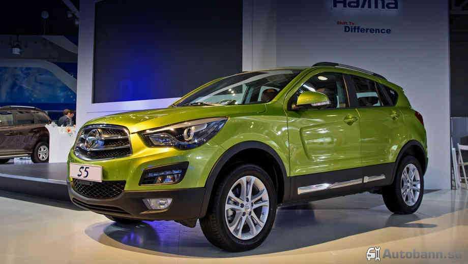 новые китайские авто Haima S5 2016 года