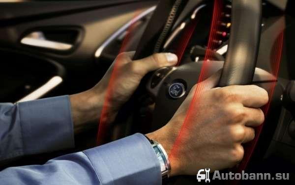 вибрация автомобильного руля при торможении и причины