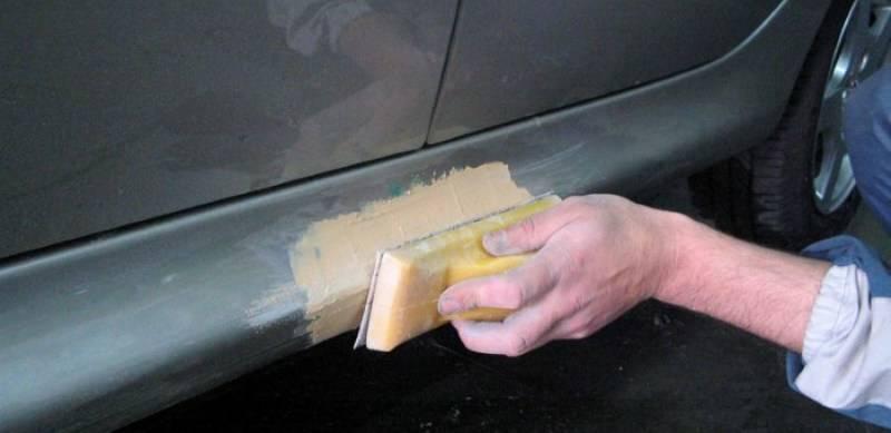 как самому покрасить машину из баллончика