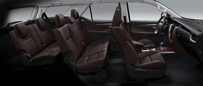 Toyota Fortuner 2017 цена в России и технические характеристики