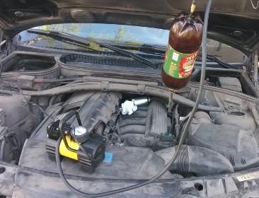как почистить форсунки не снимая с двигателя