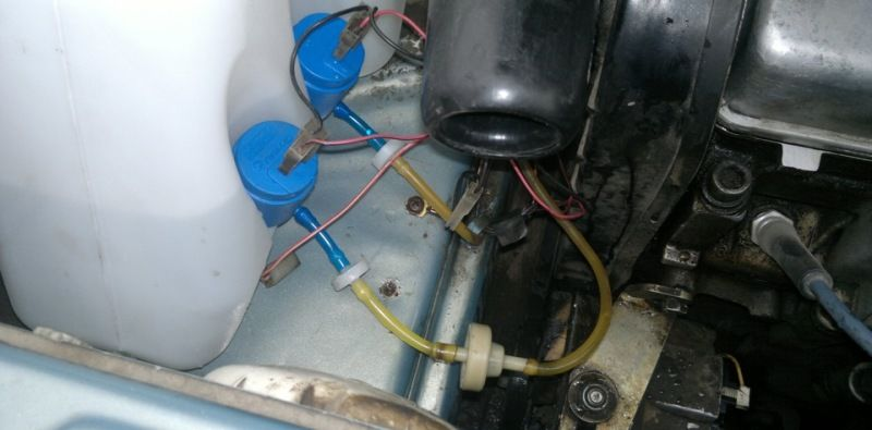если не работает омыватель лобового стекла на автомобиле ВАЗ 2109