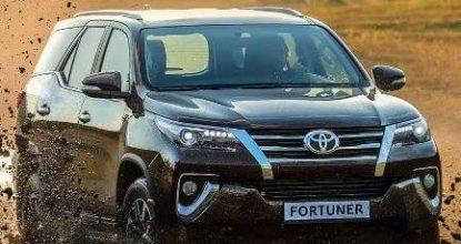 Стоимость Тойота Fortuner 2017 и технические характеристики нового SUV
