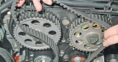 Двигатель Лада Приора и замена ремня ГРМ своими руками