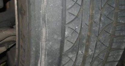 Почему ест резину с внешней стороны спереди или с внутренней на двух колесах