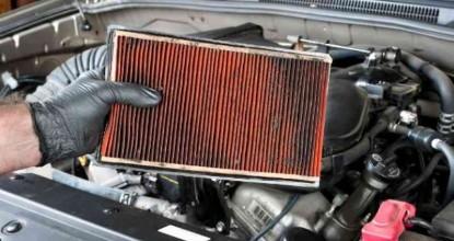 Откуда и почему масло попадает в воздушный фильтр автомобиля?