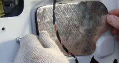 Как выполняется бюджетная шумоизоляция автомобиля своими руками: технология