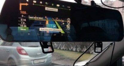 Android в авто или зеркало с навигатором и регистратором: обзор функций